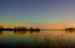photo of Lough Neagh at sunset