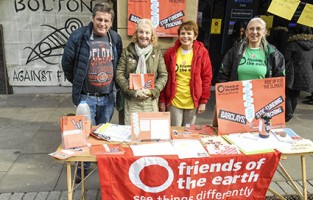 Bolton Friends of the Earth stop Barclays fracking
