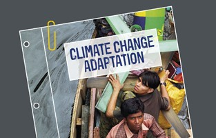Climate change adaptation policy position paper - cover image