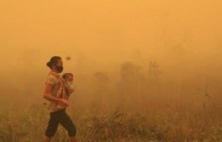 Haze in Indonesia