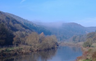River Wye in Gloucestershire