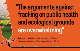 The arguments against fracking are overwhelming