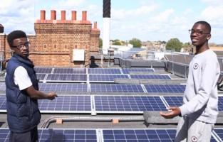 Community solar repowering London