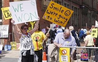 fracking win, Lancashire