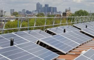 Community energy project, Brixton, London